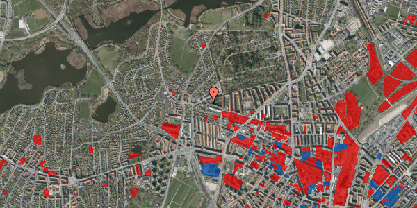 Jordforureningskort på Birkedommervej 90, st. mf, 2400 København NV