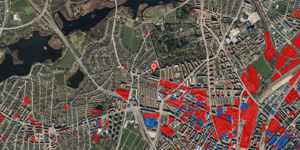 Jordforureningskort på Birkedommervej 90, 1. mf, 2400 København NV