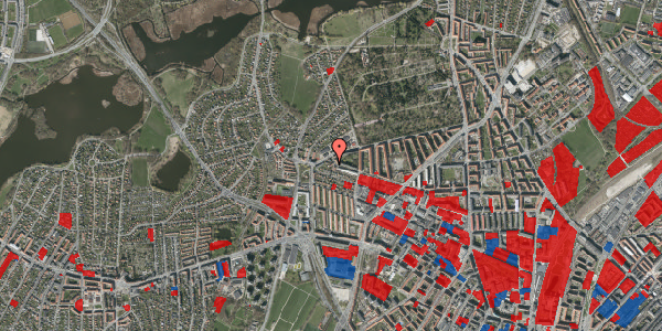 Jordforureningskort på Birkedommervej 91, 1. tv, 2400 København NV