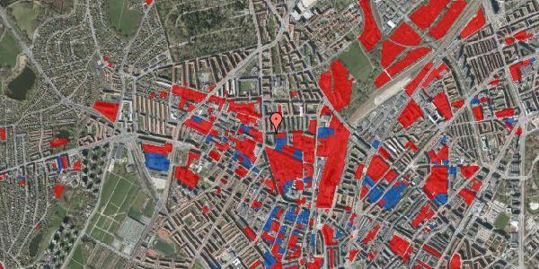 Jordforureningskort på Bisiddervej 6, 1. th, 2400 København NV