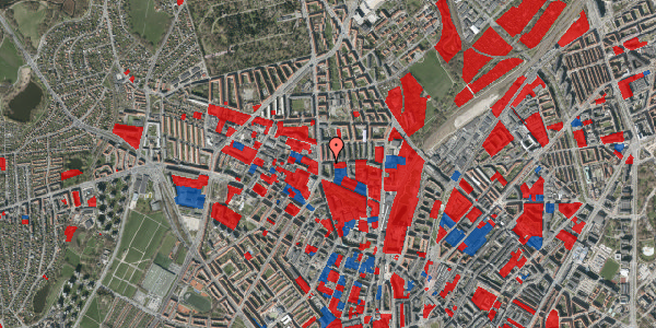 Jordforureningskort på Bisiddervej 8, 2. tv, 2400 København NV