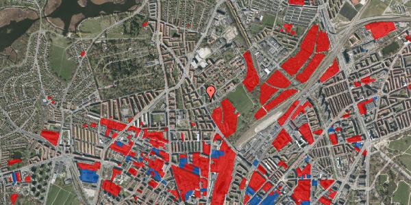 Jordforureningskort på Bispebjerg Bakke 1, 6. 601, 2400 København NV
