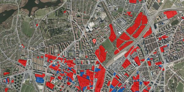 Jordforureningskort på Bispebjerg Bakke 3, 5. 508, 2400 København NV