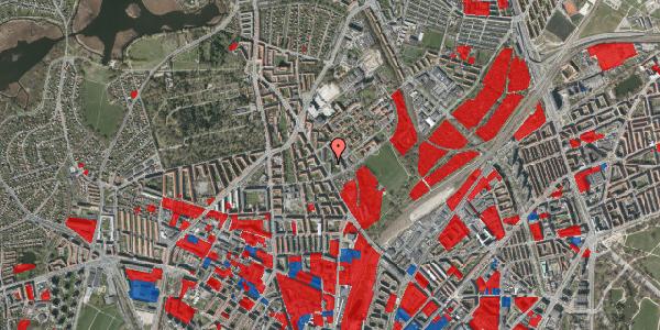 Jordforureningskort på Bispebjerg Bakke 5, 1. 111, 2400 København NV