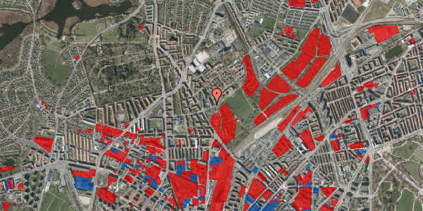 Jordforureningskort på Bispebjerg Bakke 7, 4. 405, 2400 København NV