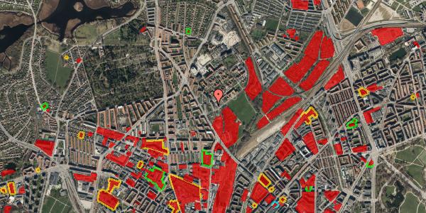 Jordforureningskort på Bispebjerg Bakke 9, 2. 206, 2400 København NV