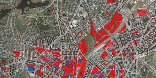 Jordforureningskort på Bispebjerg Bakke 9, 6. 607, 2400 København NV