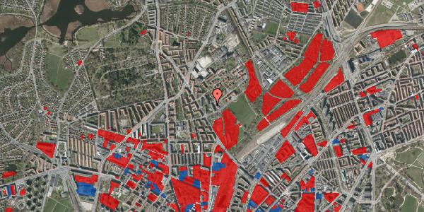 Jordforureningskort på Bispebjerg Bakke 11, 6. 611, 2400 København NV