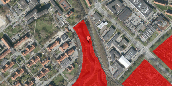 Jordforureningskort på Bispebjerg Bakke 22C, 1. th, 2400 København NV