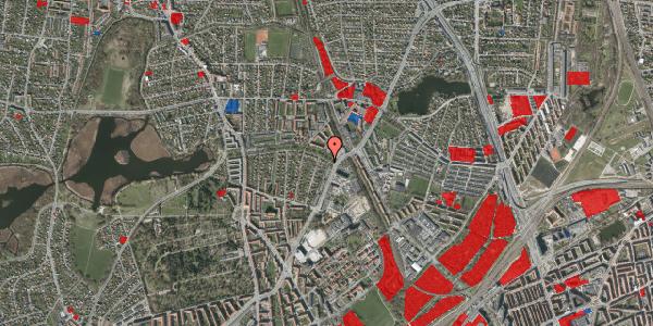 Jordforureningskort på Bispebjerg Parkallé 5, 2400 København NV