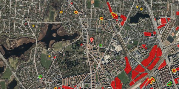 Jordforureningskort på Bispebjergvej 69, st. , 2400 København NV