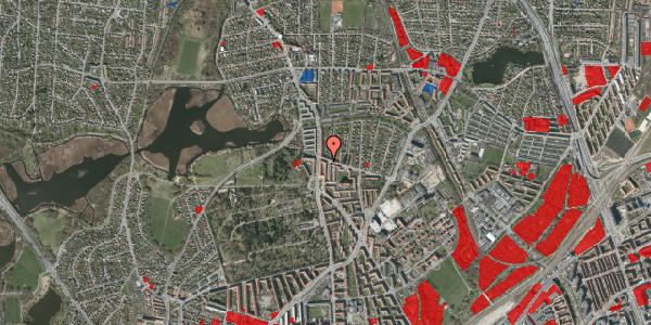 Jordforureningskort på Bispebjergvej 69, 1. th, 2400 København NV