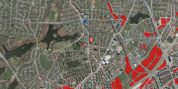Jordforureningskort på Bispebjergvej 73, 1. th, 2400 København NV