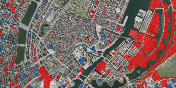 Jordforureningskort på Boldhusgade 4, 1. , 1062 København K