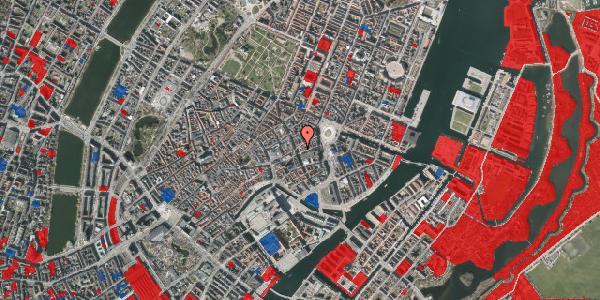 Jordforureningskort på Bremerholm 1, 3. , 1069 København K