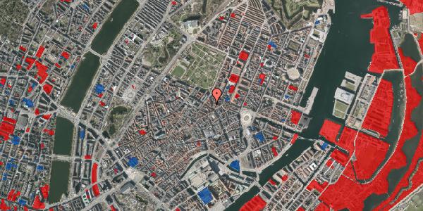 Jordforureningskort på Christian IX's Gade 1, 4. th, 1111 København K