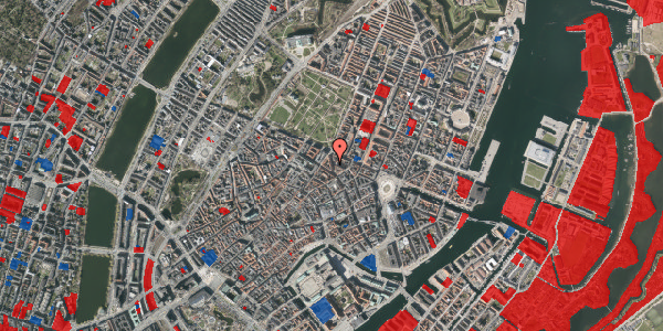 Jordforureningskort på Christian IX's Gade 3, st. tv, 1111 København K