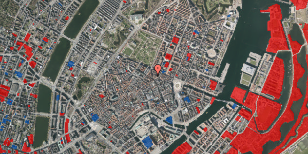 Jordforureningskort på Christian IX's Gade 4, 1. , 1111 København K