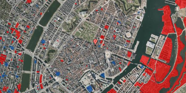 Jordforureningskort på Christian IX's Gade 8, st. , 1111 København K