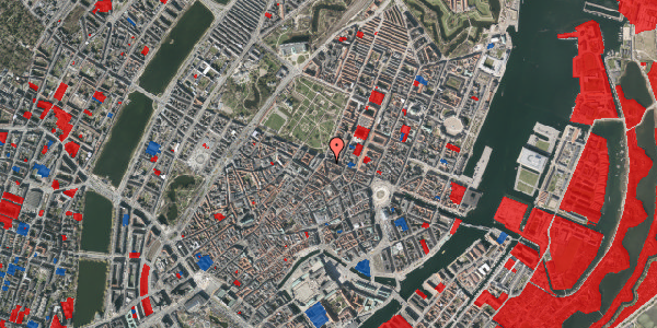 Jordforureningskort på Christian IX's Gade 10, 3. , 1111 København K