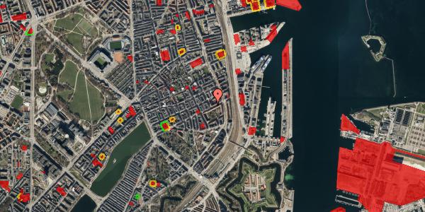 Jordforureningskort på Classensgade 59, st. tv, 2100 København Ø