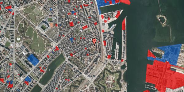 Jordforureningskort på Classensgade 59, 4. tv, 2100 København Ø
