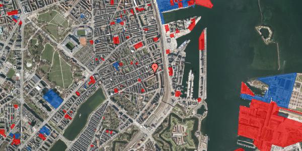 Jordforureningskort på Classensgade 61, 3. th, 2100 København Ø