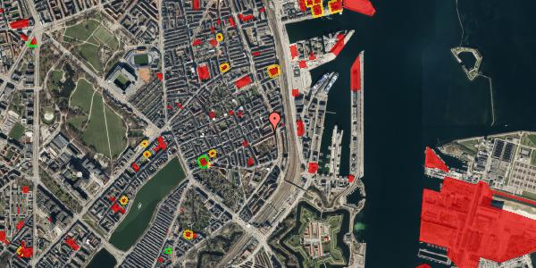 Jordforureningskort på Classensgade 63, st. 1, 2100 København Ø
