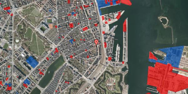 Jordforureningskort på Classensgade 63, 1. 3, 2100 København Ø