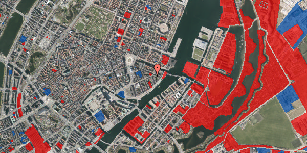 Jordforureningskort på Cort Adelers Gade 1, 1. th, 1053 København K