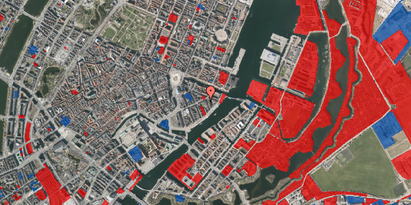 Jordforureningskort på Cort Adelers Gade 2, st. th, 1053 København K