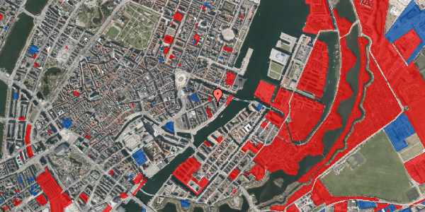 Jordforureningskort på Cort Adelers Gade 4, 3. tv, 1053 København K