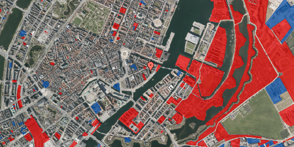Jordforureningskort på Cort Adelers Gade 8, 1. 111, 1053 København K