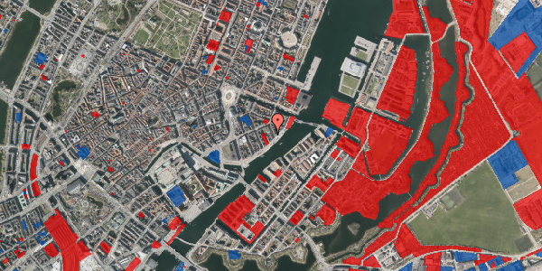 Jordforureningskort på Cort Adelers Gade 10, 4. 406, 1053 København K