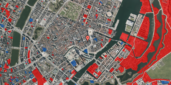 Jordforureningskort på Dybensgade 2, 1. , 1071 København K