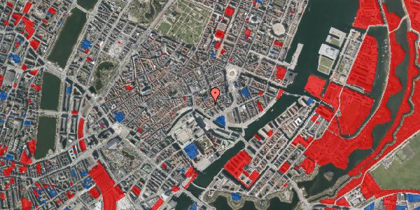 Jordforureningskort på Dybensgade 22, 1. tv, 1071 København K