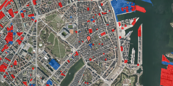 Jordforureningskort på Faksegade 16, 2. tv, 2100 København Ø