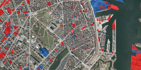 Jordforureningskort på Faksegade 16, 3. th, 2100 København Ø