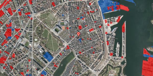Jordforureningskort på Faksegade 16, 3. tv, 2100 København Ø