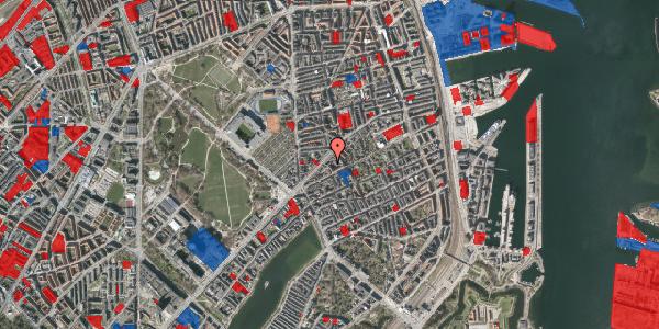 Jordforureningskort på Faksegade 18, 3. tv, 2100 København Ø