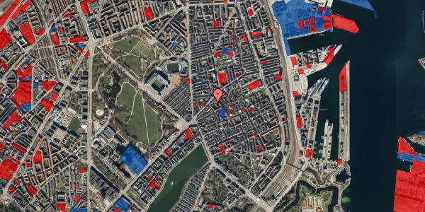 Jordforureningskort på Faksegade 18, 4. th, 2100 København Ø