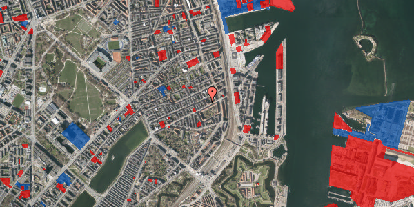 Jordforureningskort på Fiskedamsgade 2, 4. tv, 2100 København Ø