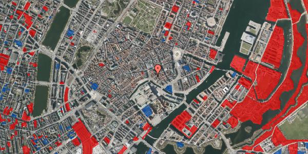 Jordforureningskort på Fortunstræde 4, 1. mf, 1065 København K