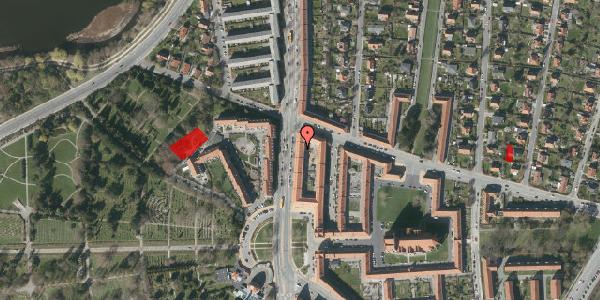 Jordforureningskort på Frederiksborgvej 156A, 2. th, 2400 København NV