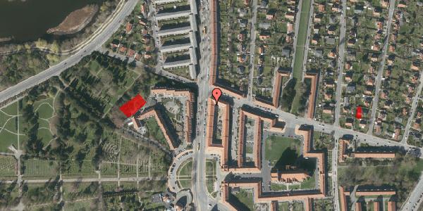 Jordforureningskort på Frederiksborgvej 156B, 1. th, 2400 København NV