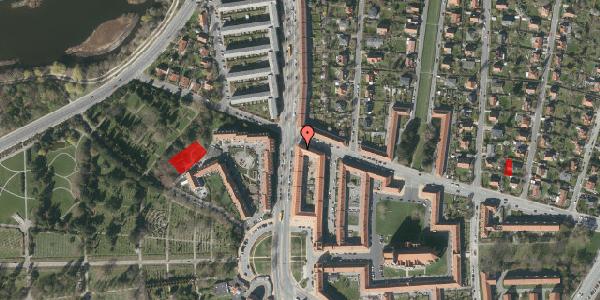 Jordforureningskort på Frederiksborgvej 158, 1. tv, 2400 København NV