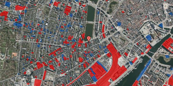 Jordforureningskort på Gammel Kongevej 21, 2. tv, 1610 København V
