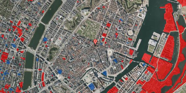 Jordforureningskort på Gammel Mønt 12, 3. mf, 1117 København K