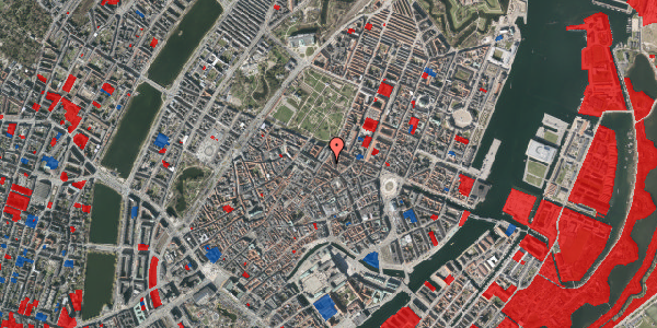 Jordforureningskort på Gammel Mønt 14, 3. th, 1117 København K