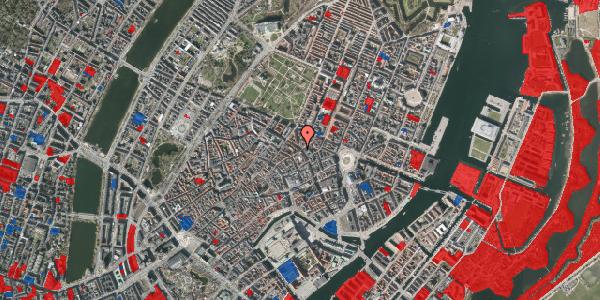 Jordforureningskort på Gammel Mønt 17, kl. tv, 1117 København K